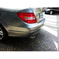 Ponteira de Escapamento Mercedes Benz Classe C180