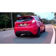 Ponteira de Escapamento Ford New Fiesta