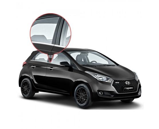 Friso Janela Pestana Cromado Hyundai Hb20