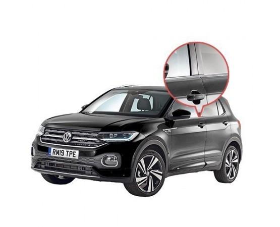 Friso Janela Pestana Cromado Volkswagen T-Cross
