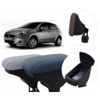 Apoio de Braço Fiat Punto com porta-objetos
