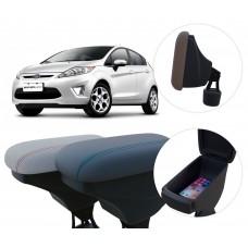 Apoio de Braço Ford Fiesta com porta-objetos