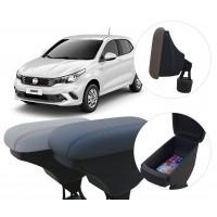 Apoio de Braço Fiat Argo com porta-objetos