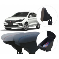Apoio de Braço Fiat Cronos com porta-objetos