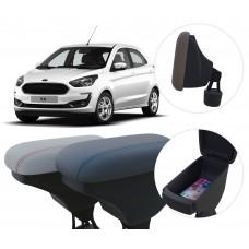 Apoio de Braço Ford Ka com porta-objetos