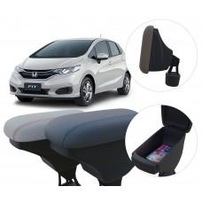 Apoio de Braço Honda Fit com porta-objetos