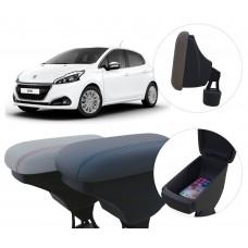 Apoio de Braço Peugeot 208 com porta-objetos