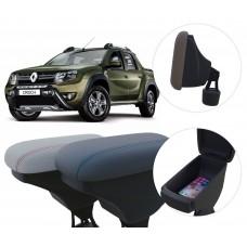 Apoio de Braço Renault Oroch com porta-objetos
