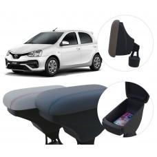 Apoio de Braço Toyota Etios com porta-objetos