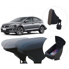 Apoio de Braço Volkswagen Virtus com porta-objetos