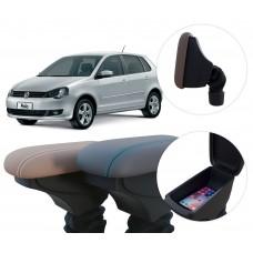 Apoio de Braço Volkswagen Polo com coifa e porta-objetos