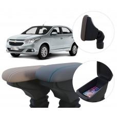 Apoio de Braço Chevrolet Cobalt com coifa e porta-objetos