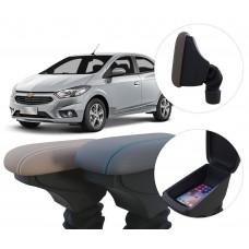 Apoio de Braço Chevrolet Novo Prisma com coifa e porta-objetos