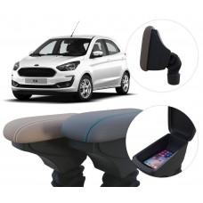 Apoio de Braço Ford Ka com coifa e porta-objetos