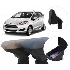 Apoio de Braço Ford New Fiesta com coifa e porta-objetos