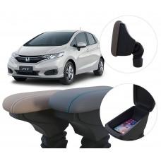 Apoio de Braço Honda Fit com coifa e porta-objetos