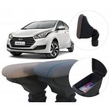 Apoio de Braço Hyundai HB20 com coifa e porta-objetos