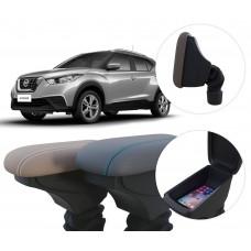 Apoio de Braço Nissan Kicks com coifa e porta-objetos