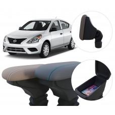 Apoio de Braço Nissan Versa com coifa e porta-objetos