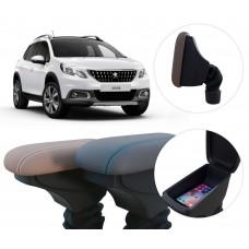 Apoio de Braço Peugeot 2008 com coifa e porta-objetos