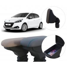 Apoio de Braço Peugeot 208 com coifa e porta-objetos