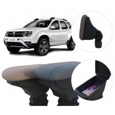 Apoio de Braço Renault Duster com coifa e porta-objetos