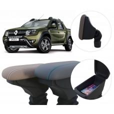 Apoio de Braço Renault Oroch com coifa e porta-objetos
