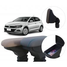 Apoio de Braço Volkswagen Novo Polo com coifa e porta-objetos