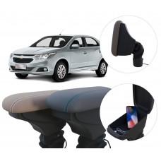 Apoio de Braço Chevrolet Cobalt com USB coifa e porta-objetos