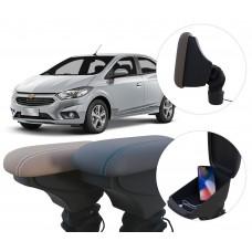 Apoio de Braço Chevrolet Novo Prisma com USB coifa e porta-objetos