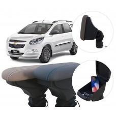Apoio de Braço Chevrolet Spin com USB coifa e porta-objetos