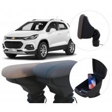 Apoio de Braço Chevrolet Tracker com USB coifa e porta-objetos