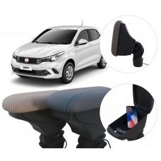 Apoio de Braço Fiat Argo com USB coifa e porta-objetos