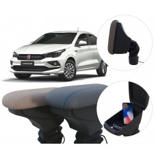 Apoio de Braço Fiat Cronos com USB coifa e porta-objetos