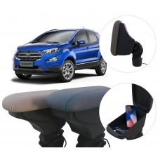 Apoio de Braço Ford Nova EcoSport com USB coifa e porta-objetos
