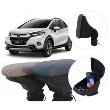 Apoio de Braço Honda WR-V com USB coifa e porta-objetos