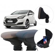 Apoio de Braço Hyundai HB20 com USB coifa e porta-objetos
