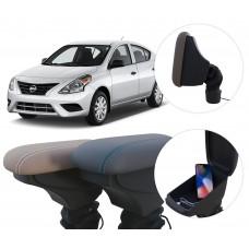 Apoio de Braço Nissan Versa com USB coifa e porta-objetos