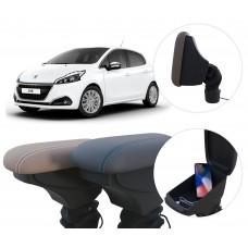 Apoio de Braço Peugeot 208 com USB coifa e porta-objetos