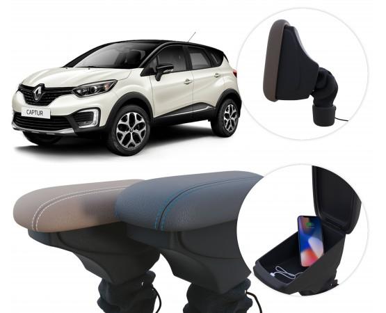 Apoio de Braço Renault Captur (GPI Automotive) por alfabetoauto.com.br