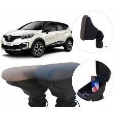Apoio de Braço Renault Captur com USB coifa e porta-objetos