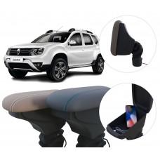 Apoio de Braço Renault Duster com USB coifa e porta-objetos
