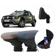 Apoio de Braço Renault Oroch com USB coifa e porta-objetos