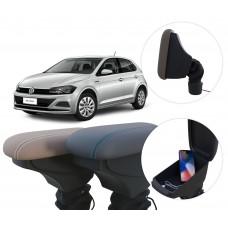 Apoio de Braço Volkswagen Novo Polo com USB coifa e porta-objetos