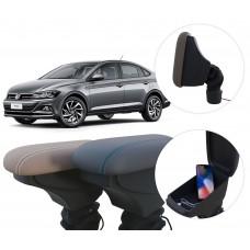 Apoio de Braço Volkswagen Virtus com USB coifa e porta-objetos