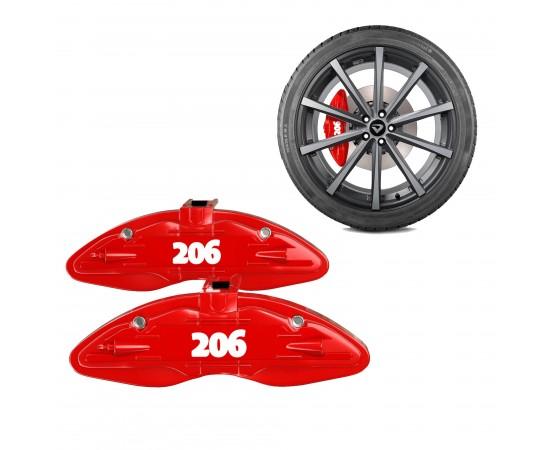 Capa para pinça de freio Peugeot 206