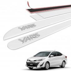 Friso Lateral Toyota Yaris Alto Relevo - Sean Car