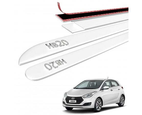 Friso Lateral Hyundai HB20 Alto Relevo - Sean Car