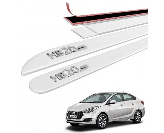 Friso Lateral Hyundai HB20S Alto Relevo - Sean Car