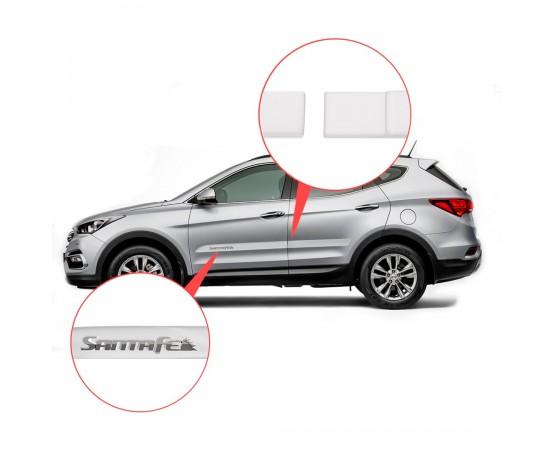 Friso Lateral Hyundai Santa Fé Alto Relevo - Sean Car
